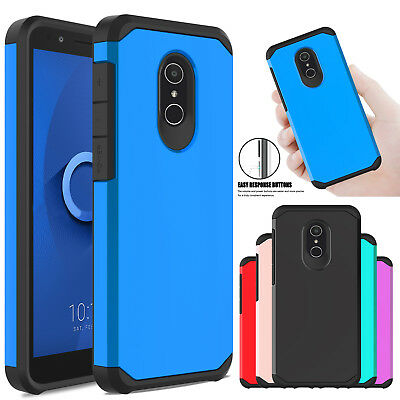 For Alcatel TCL LX A502DL IdealXTRA 1X Evolve Shockproof Armor Rugged Case Cover