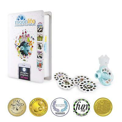 NEW Moonlite Gift Pack - Storybook Projector for Smartphones with 5 Stories