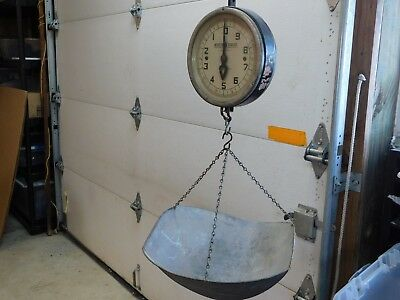Detecto Scales Series 26 S 10 Lb Hanging Scale w/ Basket Vintage General  Store