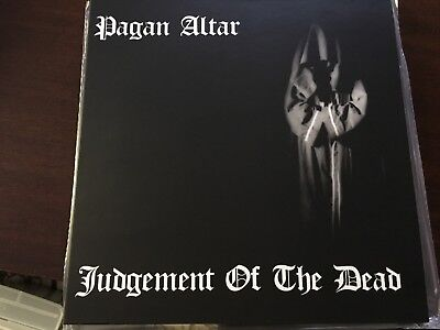 Pagan Altar Judgement of the Dead Lp 2 posters huge book