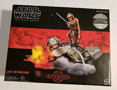 New! Star Wars, The Black Series, Luke Skywalker Center Piece