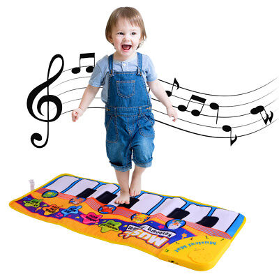 Music Piano Keyboards Touch Play Musical Mat Early Education for Kid Baby TH1025