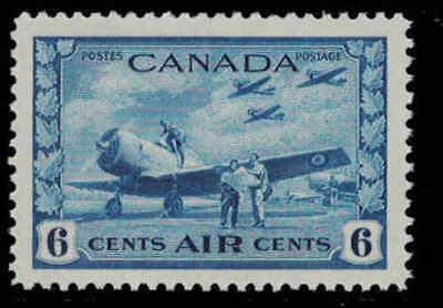 Canada 1942 6¢ Airmail Mint Never Hinged