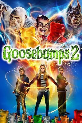 Goosebumps 2: Haunted Halloween (2018) Factory Sealed Brand New