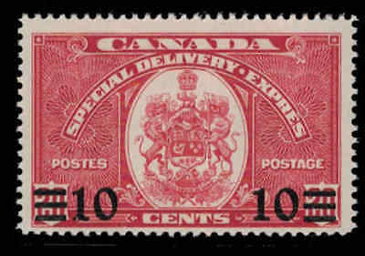 Canada 1939 10¢ on 20¢ Special Delivery Mint Never Hinged