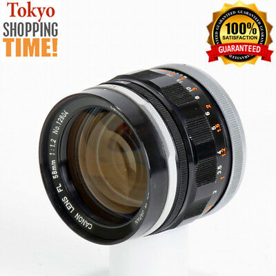 [EXCELLENT+++] Canon FL 58mm F/1.2 Lens from Japan