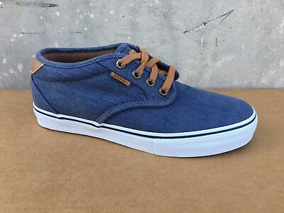 e49227f09e1597 VANS Chima Estate Pro (Washed) Navy Skate ULTRACUSH MEN S 7 WOMEN S 8.5