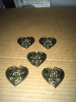 Minnie Mouse WALT DISNEY CARTOON BELT BUCKLE  1 inch belt  6 lot found another