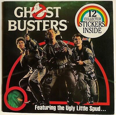 1984 Ghostbusters Book & Stickers