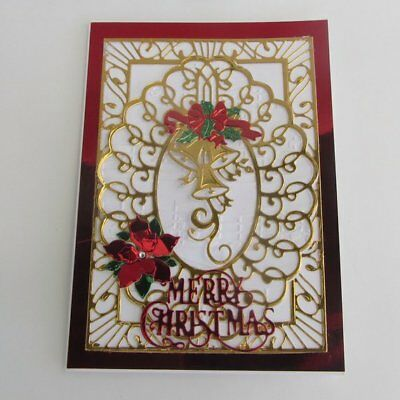 Old Fashioned Vintage Style Luxury Merry Christmas Card for Someone Special.