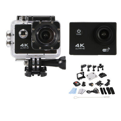 "4K Ultra HD Wifi Action Camera 2"" LCD 1080P 16MP Sport Cam Video Camcorder AH390"