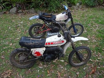 Yamaha YZ80 Trail Mini Bike 1979/80 model + lots of spares