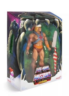 NEW Super 7 HOLIDAY HE-MAN Limited Edition Christmas Exclusive In Hand MOTU MINT