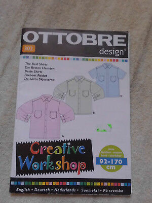 OTTOBRE design - Kids fashion -  Schnittmuster Hemd