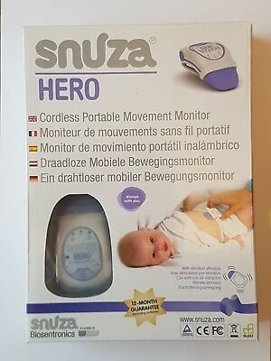Snuza Hero Cordless Portable Baby Movement Monitor
