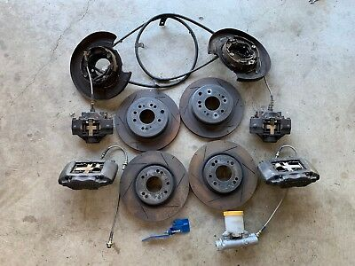 R32 GTR brake upgrade package for S13/s14/s15/180sx SR20DET