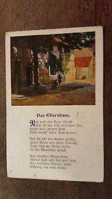 Stamps Postcard Germany Reich Postal History Nice Lot Ge/46