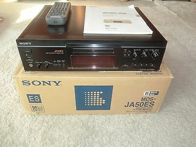 Sony MDS-JA50ES High-End MiniDisc Recorder, komplett in OVP, 2 Jahre Garantie