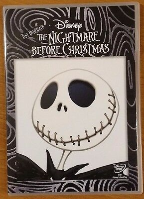 The Nightmare Before Christmas (DVD, 2013) DISNEY NEW FREE POSTAGE
