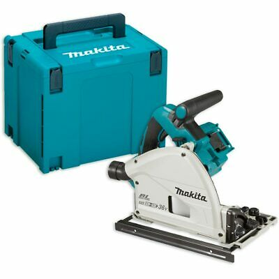 Makita DSP600ZJ Brushless Plunge Saw 18V & Makpac (Body Only)
