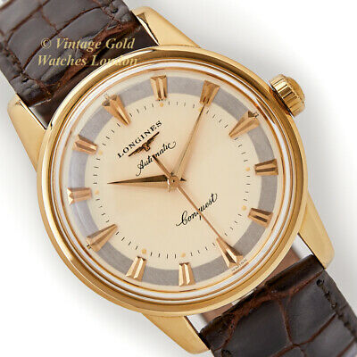 Longines Conquest, Cal.19 As Automatic, 18Ct, 1954 - Immaculate!