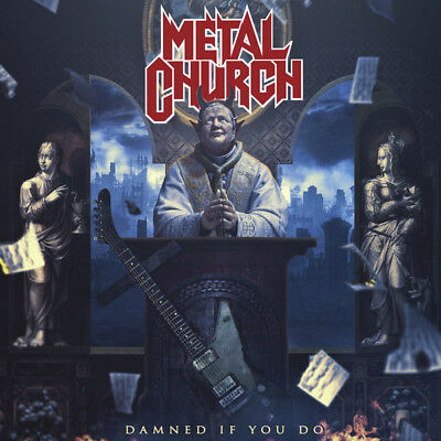 Metal Church ‎– Damned If You Do 2018 COLLECTOR'S SEALED CD! FREE SHIPPING!