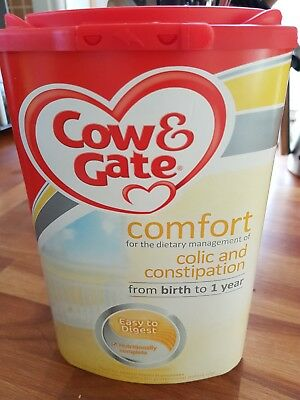 Cow and Gate Comfort Baby Milk Powder 800g - New and Sealed