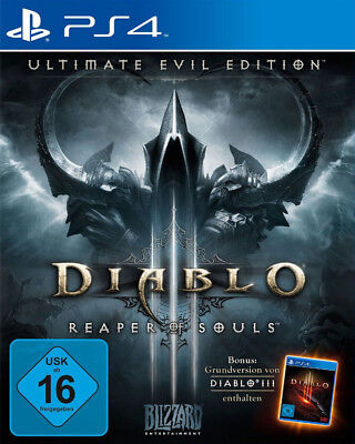 Diablo 3 III Reaper of Souls - Ultimate Evil Edition für Playstation 4 PS4 [FR]