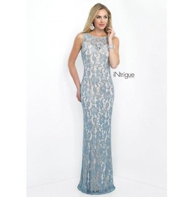 Blush Prom Dress Party Evening Gown Long Formal Sexy Color Grey Size