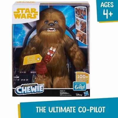 Star Wars: Ultimate Co-pilot Chewie Interactive Plush Toy High Quality