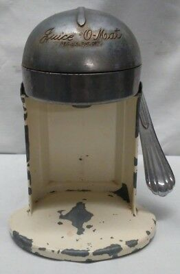 "Vintage Art Deco RIVAL"" Juice-O-Mat"" Manual Citrus Juicer~Chrome Plate 1930'S"