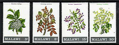 Malawi 1971 Flowering Shrubs & Trees SG 397/400 MNH