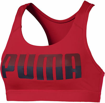 3a5252ad1756f Puma 4Keeps Mid Impact Womens Sports Bra - Red