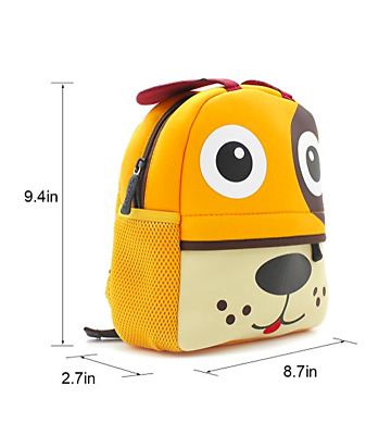 Lulutus Little Kids Cute Animals Backpack Preschool Bags Waterproof for Toddler