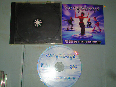 Vengaboys - The Platinum Album (Cd, Compact Disc) complete Tested