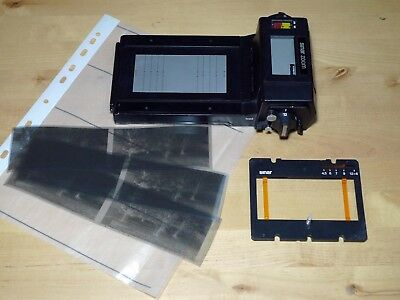 SINAR ZOOM MULTI FORMAT 4,5x6, 6x6, 6x7, 6x9 and 6x12  ROLL FILM HOLDER + MASK