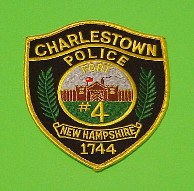 Charlestown  New Hampshire  1744  Fort #4   Police Dept. Patch  Free Shipping!!!
