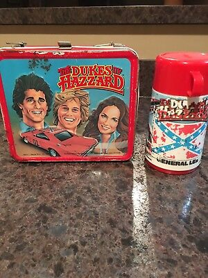 Dukes Of Hazzard Lunch Box And Thermos