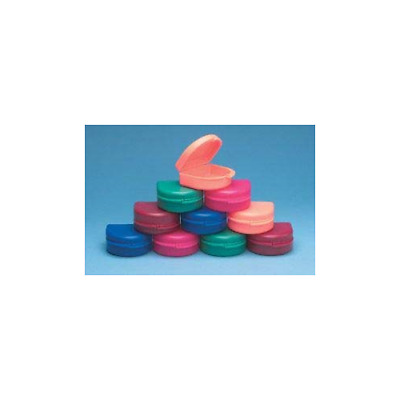 Keystone 0921523 Bo Boxes Orthodontic Retainer Cases Assorted Colors 100/Pk