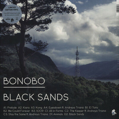 Bonobo - Black Sands (Vinyl 2LP - 2010 - UK - Original)