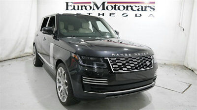 2018 Land Rover Range Rover V8 Supercharged Autobiography LWB land rover range rover v8 supercharged autobiography lwb leather 17 18 navigatio