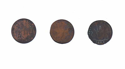 3 - 1808 Admiral Gardner Shipwreck Cash Coins Copper East India Company Papers