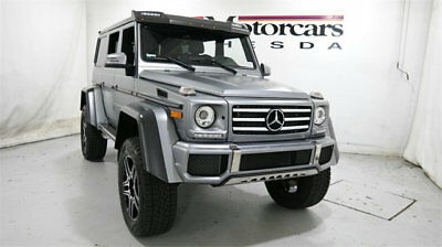2017 Mercedes-Benz G-Class G 550 4x4 Squared SUV mercedes benz g 4*4 550 4x4 squared wagon suv awd used matte certified 17 silver