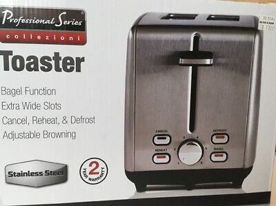 Professional Series Stainless Steel 2-Slice Toaster