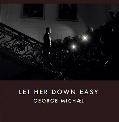 George Michael Let Her Down Easy Cd Single Promo Benelux