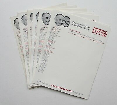 Johnson-Humphrey Picture Stationary-53 Sheets-Allegheny County, Pa w/Local Pols