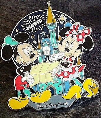 NEW Disney World Mickey's 90th Birthday Character Trading Pin Sealed on Card