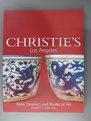 Asian Ceramics and Works of Art, Christie's Auction Catalogue 4/13/2000
