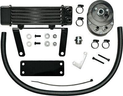 Jagg Oil Coolers 750-1290 Horizontal 6 Row Oil Cooler Low Mount