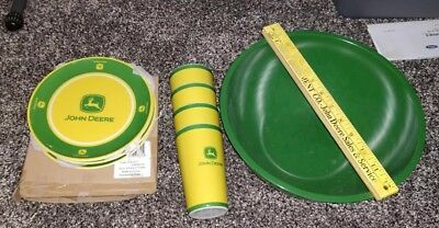 John Deere Plates And Cups